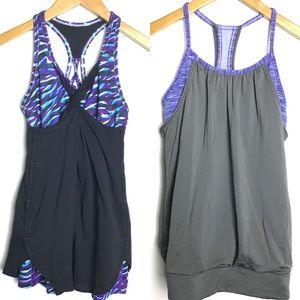 Ivivva Girls Tank Top Lot Bundle Size 12